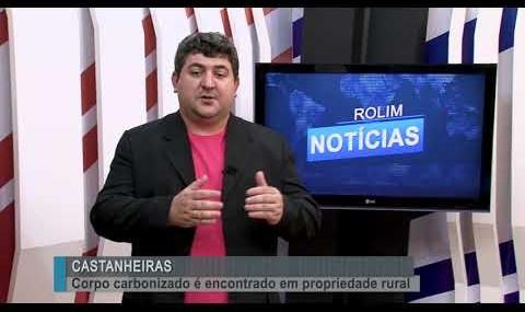 Corpo carbonizado é encontrado em propriedade rural de Castanheiras-RO