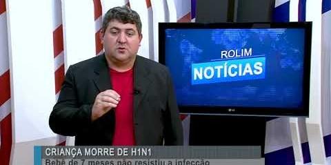 Criança morre de H1N1 em Porto Velho (RO)