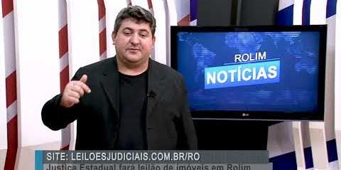 Justiça Estadual fará leilão de imóveis em Rolim de Moura