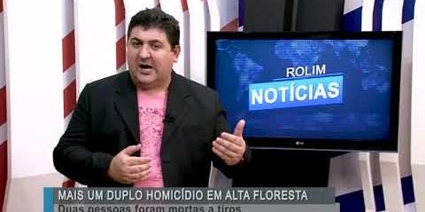 Duplo homicídio em Alta Floresta-RO