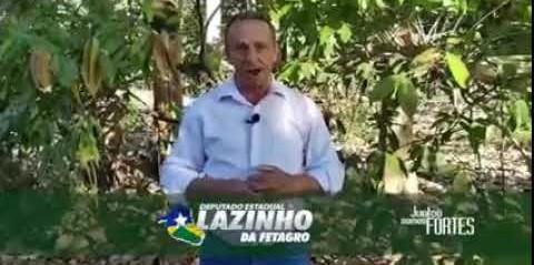 Mensagem de Lazinho da Fetagro sobre a Semana e o dia Internacional da Agricultura...