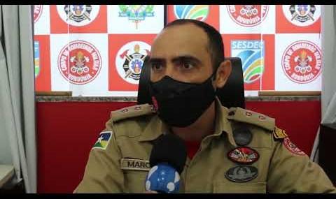 Comandante dos bombeiros fala sobre queimadas na região de Rolim de Moura