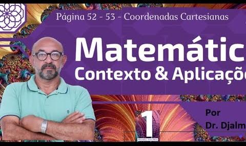 Acompanhe o Canal Matemática Fácil - Coordenadas Cartesianas