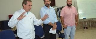 Senador Valdir Raupp e prefeito Luizão do Trento participam de reunião na  ACIRM