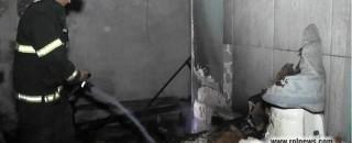 Bombeiros de Rolim combatem incêndio em dois apartamentos