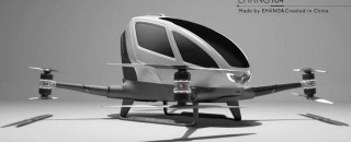 Empresa anuncia primeiro drone que transporta uma pessoa