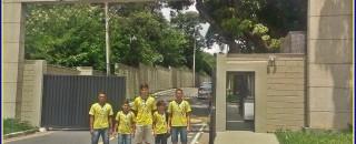 Atletas da Escolinha Rolim passam por avaliações no CT do Atlético Mineiro