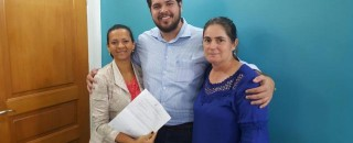 Deputado Jean Oliveira (PSDB) recebe reivindicação de vereadoras do Rio Crespo