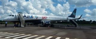 Aeroporto de Cacoal retoma operações com jato para 119 passageiros