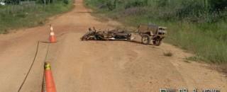 Homem é executado a tiros na zona rural de Nova Brasilândia