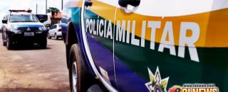 Mulher de acusado por tráfico de drogas ataca policial durante revista em Rolim de Moura