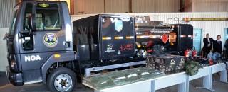 Núcleo de Operações Aéreas de Rondônia é beneficiado com Caminhão Tanque Abastecedor proveniente de multa na...