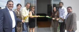 Raupp participa da inauguração da Casa da Criança e do frigorífico de suínos