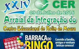 Rotary Club estará com a barraca do Bingo no 24º Arraial do CER