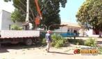 Cacoal: Árvores serão podadas para melhor visão das câmeras do vídeo monitoramento
