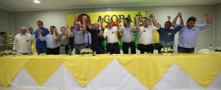 Deputado Maurão acompanha convenção do PMDB em Rolim de Moura