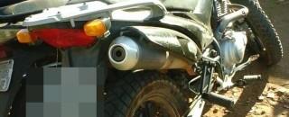 Moto furtada em Costa Marque é recuperada pela Polícia Civil de Cacoal