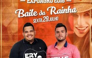 Nesta sexta-feira acontece o Baile da Rainha da 31ª Expoagro, em Rolim de Moura