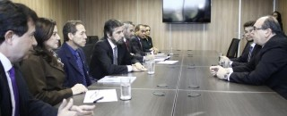 Senador Raupp e deputada Marinha  defende na SAC a internacionalização do Aeroporto Jorge Teixeira