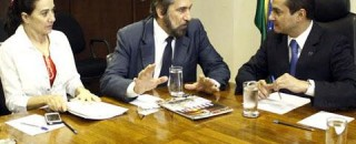 Senador Raupp e deputada Marinha defendem na APEX e no Ministério da Indústria investimentos no Distrito...