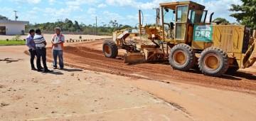 Só na Bença fiscaliza obras de infraestrutura em vários municípios