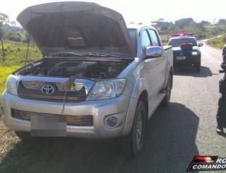 Suspeitos são detidos com carro roubado na zona rural de Nova Brasilândia D'Oeste