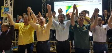 Raupp e lideranças  reafirmam apoio às candidaturas do PMDB