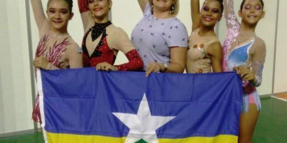 Ginástica rítmica de Rondônia sobe quatro posições no ranking dos Jogos Escolares da Juventude em João Pessoa