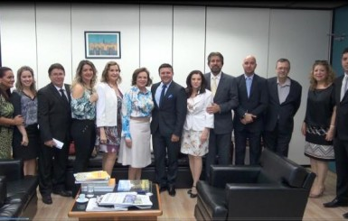 Raupp pede a CEF urgência na construção da Casa da Mulher Brasileira em Porto Velho