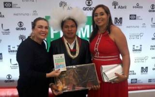 Professor indígena de Rondônia conquista segundo lugar no Prêmio Educador Nota 10