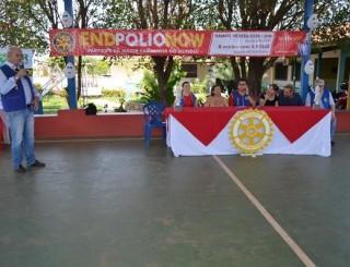 Rolim de Moura - Rotary Club realizou café da manhã no CER