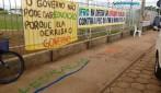 Servidores e alunos do Ifro promovem manifestações contra a PEC dos gastos públicos