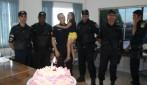 Sonho:Criança comemora aniversário de 06 anos no quartel com a Polícia Militar em Rolim