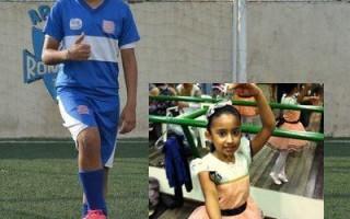 Menina troca sapatilha por chuteira e joga em time masculino em Rondônia