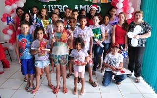 CRAS encerra o Projeto Livro Amigo em Alto Alegre dos Parecis