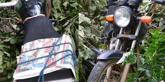 Moto de fotógrafo é roubada em frente a redação de jornal, em Rolim de Moura