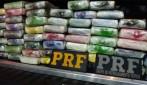 Operação conjunta da PC e PRF apreende 180 quilos de cocaína