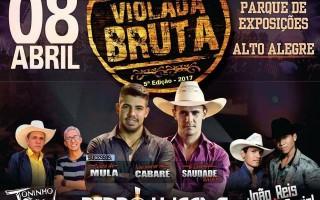 5ª Violada Bruta fecha parceria com empresas de Alto Alegre dos Parecis e região