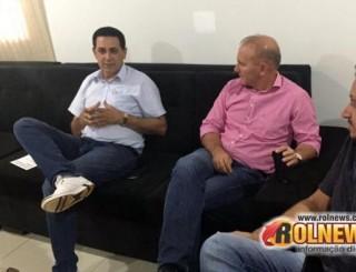 Rolim: Aldo Julio recebe o Diretor Geral do DER e tapa-buracos deve iniciar em 20 dias