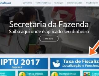 Rolim de Moura: Taxa de Localização e funcionamento está disponível  on-line