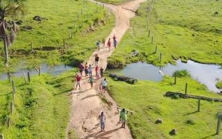PM cumpre mandado de reintegração de posse em fazenda na zona rural de Pimenta Bueno