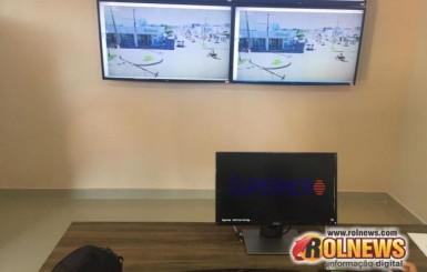 Vídeo monitoramento começa a operar em Rolim de Moura