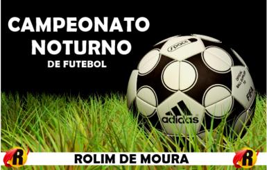 6º Campeonato de Futebol noturno inicia nesta sexta-feira