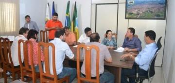 """Aldo Júlio recebe visita da Deputada Marinha Raupp, Deputados e participa do lançamento do """"Cidade Linda"""""""
