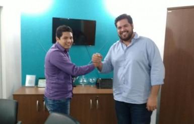 Jean oliveira reúne com presidente da Força Jovem do PMDB