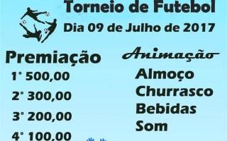 Torneio  de futebol da linha 168 norte acontece dia 09 de julho