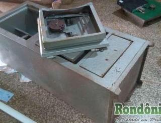 Bandidos quebram parede de joalheria de Rolim de Moura e levam quase meio milhão em joias
