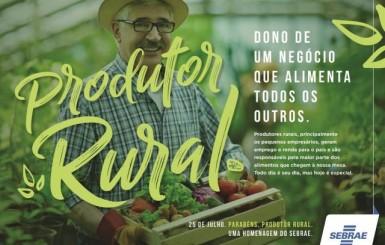 Dia do produtor rural em nova fase