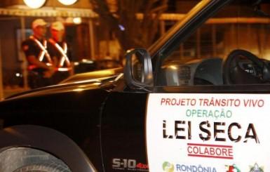 Ao menos oito condutores foram flagrado pela lei seca em Rolim de Moura neste fim de semana