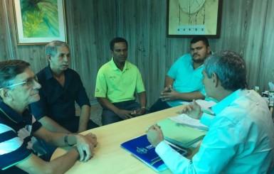 Prefeito agradece Jean Oliveira por incentivo ao esporte em Santa Luzia do Oeste
